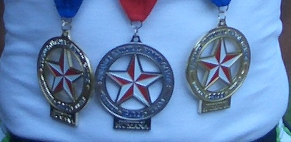 National Senior Games medals