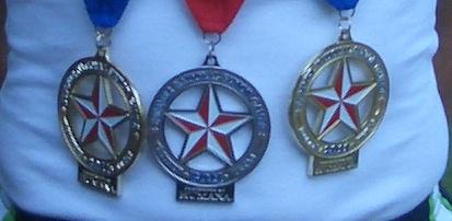 National Senior Games medals